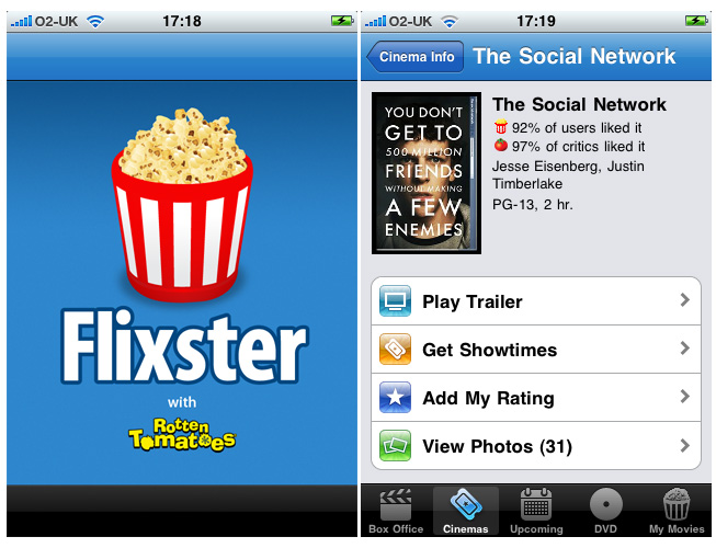 Watch UltraViolet Movies using Flixster