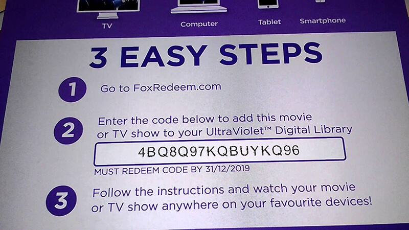 Blu Ray Digital Copy Redeem Codes - Digital Photos and ...